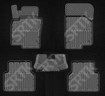 Глубокие резиновые коврики VW Tiguan 2007-2015 SRTK (Саранск)