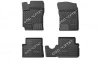SRTK (Саранск) Глубокие резиновые коврики Hyundai Getz