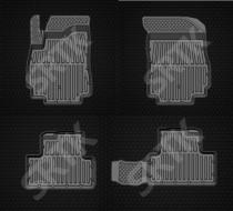 Глубокие резиновые коврики Chevrolet Orlando 5 мест SRTK (Саранск)