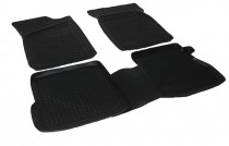 Глубокие коврики в салон Renault Kangoo 1997-2007 полиуретановые L.Locker