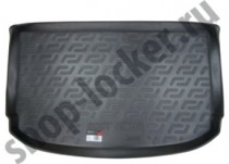 Коврик в багажник Fiat Fiorino/Qubo пассажир полимерный L.Locker