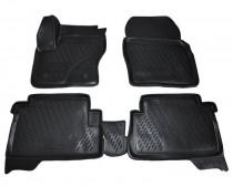 Коврики в салон глубокие полиуретановые Ford Kuga 2012- Novline