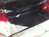 Nor-Plast Коврик в багажник Ока резино-пластиковый