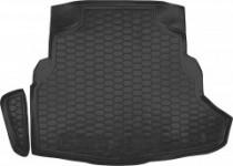 Полиуретановый коврик багажника Mercedes-Benz C-class W205 (с ухом) Avto Gumm
