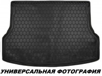 Полиуретановый коврик багажника VW Passat B3/B4 wariant Avto Gumm