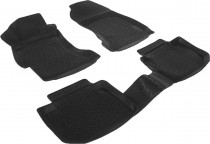 L.Locker Глубокие коврики в салон Subaru XV 2011- полиуретановые