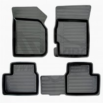 Глубокие резиновые коврики Chevrolet Spark/Ravon R2 AvtoDriver