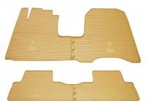 Stingray Коврики резиновые Honda CR-V 2006-2012  бежевые