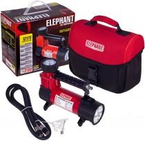 Компрессор ELEPHANT КА-12175 100psi, 14A, 30л/мин, фонарь, прикуриватель