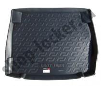 Коврик в багажник BMW 1 series (F20) HB 5-дверный 2011- полиуретановый L.Locker