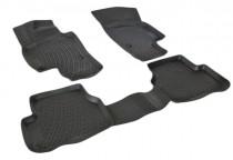 L.Locker Глубокие коврики в салон Volkswagen Passat CC 2012- полиуретановые