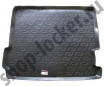 Коврик в багажник BMW X3 (F25) 2010- полимерный L.Locker