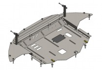 Кольчуга Защита двигателя Hyundai Elantra VI AD 2015- ZiPoFlex®