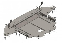 Кольчуга Защита двигателя Hyundai i-20 2014-  ZiPoFlex®