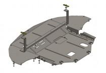Кольчуга Защита двигателя Hyundai Sonata LF 2014-