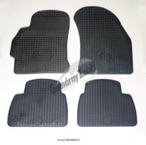 Коврики резиновые Ford Mondeo 2000-2007 серые Gumarny Zubri