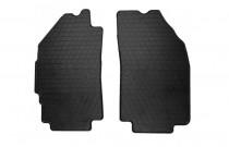 Коврики резиновые Chevrolet Spark10- /Ravon R2 15- передние Stingray