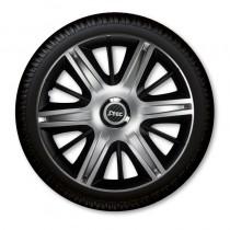 Колпаки R13 Maximus Silver&Black J-TEC (Jacky Auto Sport)