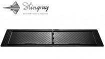 Резиновые универсальные коврики UNI TWIN (1600х440) 2-й, 3-й ряд Stingray
