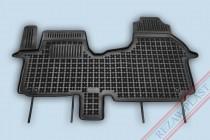 Коврики резиновые Opel Vivaro/Renault Trafic/Fiat Talento 2014- передние Rezaw-Plast