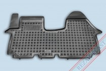 Коврики резиновые Opel Vivaro/Renault Trafic/Nissan Primastar 2001-2014 передние Rezaw-Plast