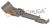 Кольчуга Защита двигателя Chevrolet Suburban 2000-2006 ZiPoFlex®