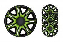 Колпаки Nascar Green&Black R14 J-TEC (Jacky Auto Sport)