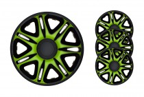 Колпаки Nascar Green&Black R15 J-TEC (Jacky Auto Sport)