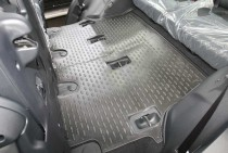 Novline Глубокие коврики в салон Toyota Land Cruiser 200 2012-  7 мест