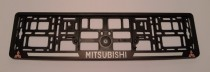 Carmotion Рамка под номерные знаки Mitsubishi