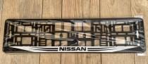 Carmotion Рамка под номерные знаки Nissan