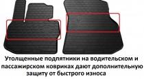 Stingray Коврики резиновые Chery Amulet 2003-2012/Seat Toledo 1991-1999