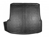 Коврик в багажник Skoda Octavia A5 liftback полимерный Avto Gumm