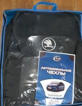 Prestige Авточехлы LUX Skoda Octavia A7 (сзади без подлокотника)