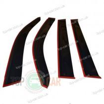 Cobra Tuning Дефлекторы окон Chevrolet Volt 2010-2015