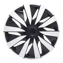 Колпаки Lazio Carbon Silver&Black R14 J-TEC (Jacky Auto Sport)
