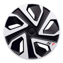 J-TEC (Jacky Auto Sport) Колпаки ST silver&black R13