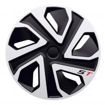 J-TEC (Jacky Auto Sport) Колпаки ST silver&black R16