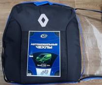 Авточехлы Opel Vivaro 1+2 2014- (деленый салон) Prestige