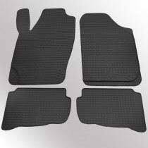 ХЗРТИ Коврики резиновые Skoda Fabia 00-/VW Polo 02-/Seat Ibiza/Cordoba 03-