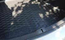 Коврик багажника Renault Laguna 2000-2007 liftback/sedan Avto Gumm