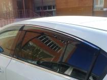 Cobra Tuning Дефлекторы окон Skoda Octavia A7 combi 2013-  с хромированным молдингом
