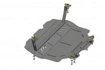 Кольчуга Защита двигателя Skoda Octavia II A5 WeBasto 2004-2013