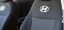 Оригинальные чехлы Hyundai Accent 2017-(бугры) EMC