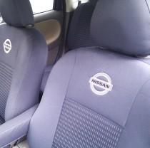 Оригинальные чехлы Nissan Qashqai (1+2) 5 мест 2009- EMC