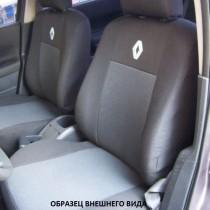 Оригинальные чехлы Renault Logan 2013- задняя спинка деленная Россия EMC