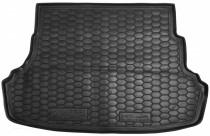 Коврик багажника Hyundai Accent 2010-2017 седан (цельная спинка) Avto Gumm