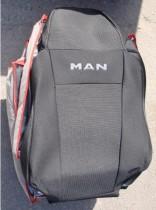 Оригинальные чехлы MAN TGX 1+1 высокие спинки 2006- EMC