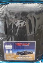 Оригинальные чехлы Hyundai Sonata NF 2005-2010 (задняя спинка деленая) Nika-Avto