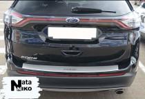 NataNiko Накладка с загибом на бампер Ford EDGE II 2014- (Европа)